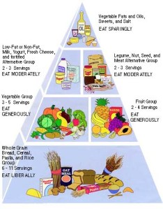 veggie and healthy food